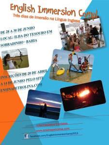 English Camp poster